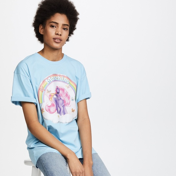 4b4d026876 Moschino My Little Pony Tee. M_5a9af39c8af1c53d71301829